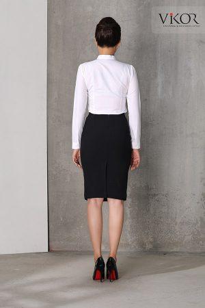 Đồng phục công ty mẫu 022 chân váy và sơ mi đẹp