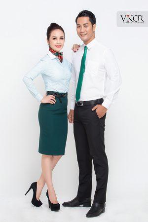 Đồng phục công ty mẫu 023