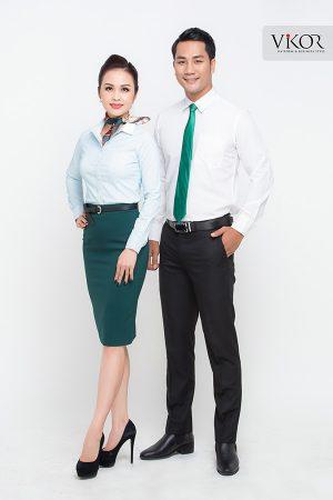 Đồng phục công ty mẫu 023 đẹp