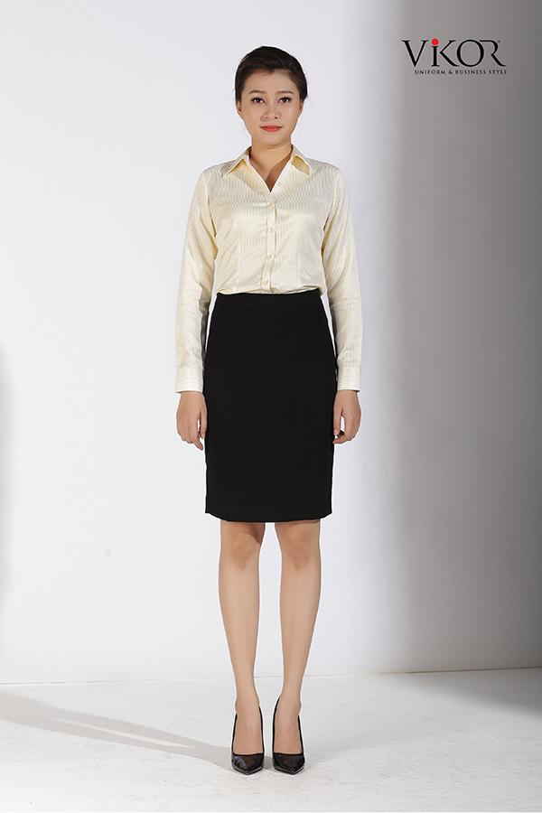 Đồng phục công ty mẫu 024 cho nữ
