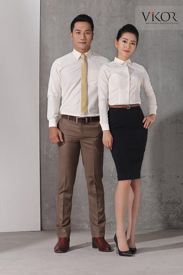 Đồng phục công ty mẫu 025