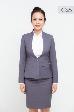 Đồng phục công ty mẫu 027 nữ đẹp