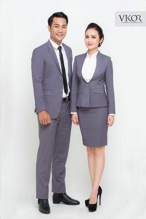Đồng phục công ty mẫu 027 vest