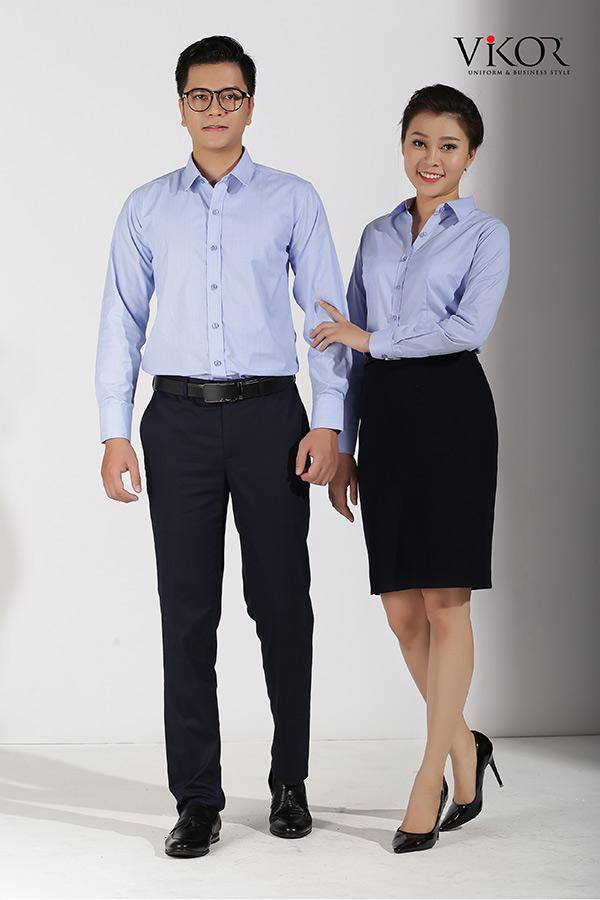Đồng phục công ty mẫu 031 đẹp