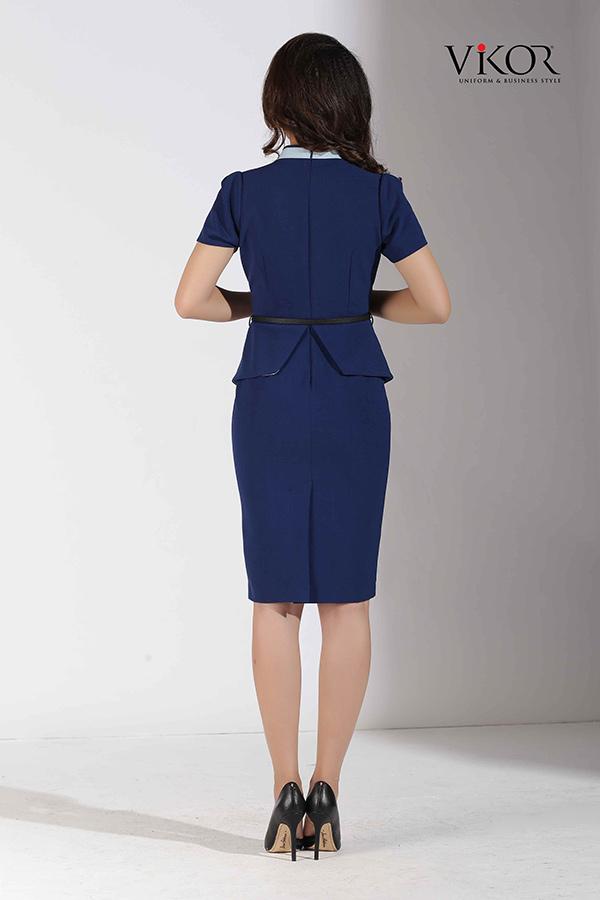 Đồng phục công ty mẫu 032 váy nữ đẹp