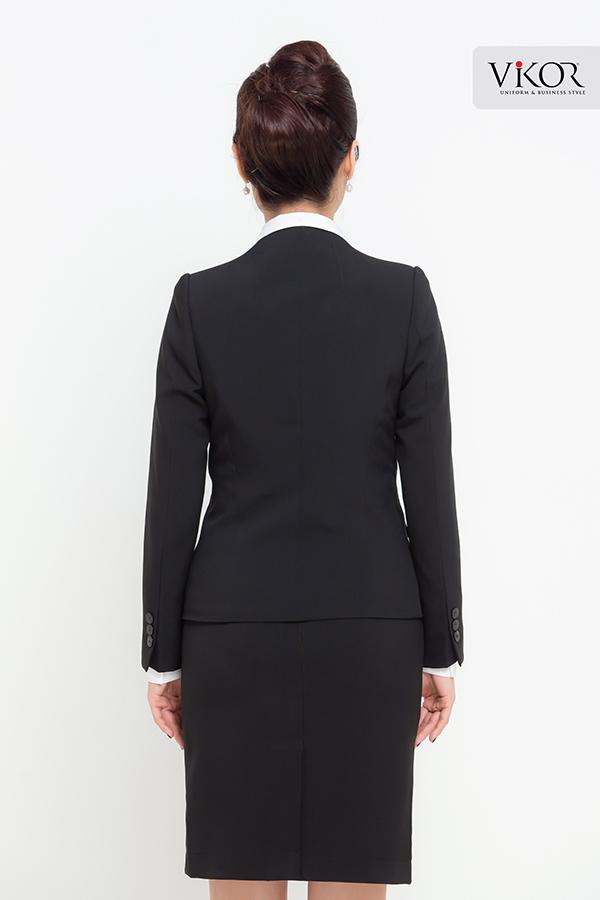 Đồng phục công ty mẫu 033 vest đẹp