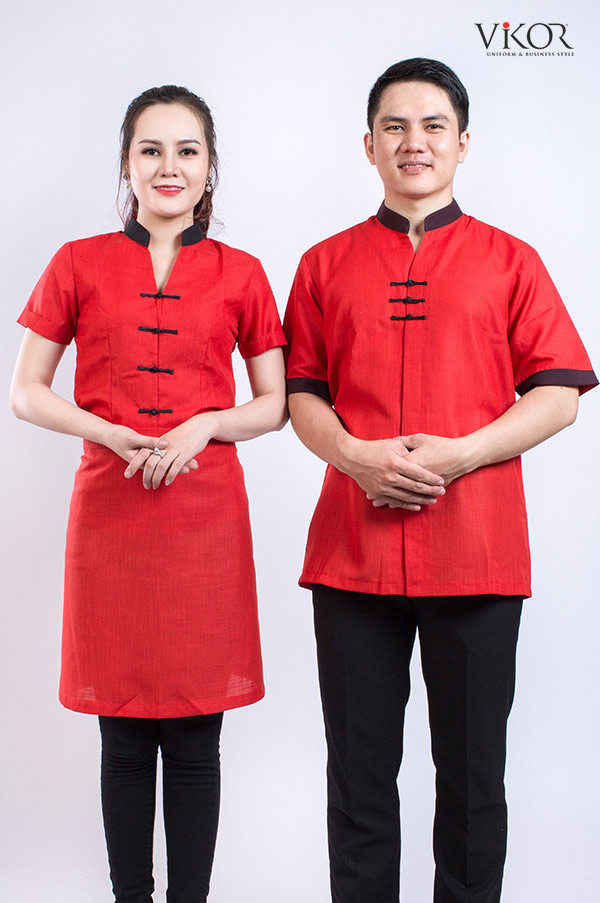 Đồng phục phục vụ nhà hàng Hoa