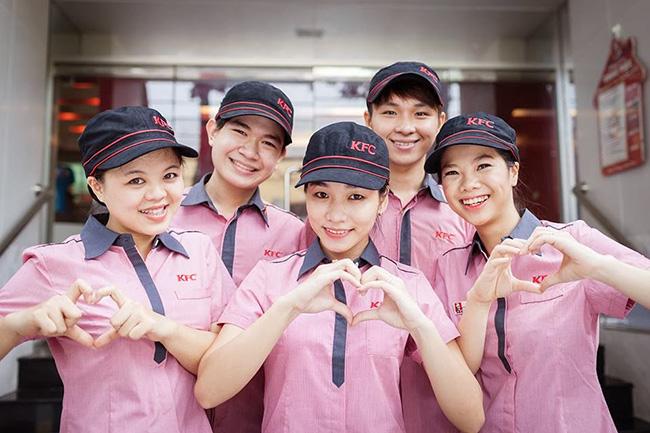 Đồng phục phục vụ nhà hàng đồ ăn nhanh