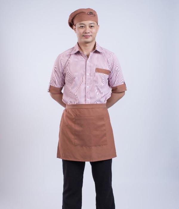 Đồng phục phục vụ mang thiết kế trẻ trung