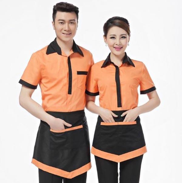 Đồng phục nhân viên phục vụ nhà hàng thoải mái