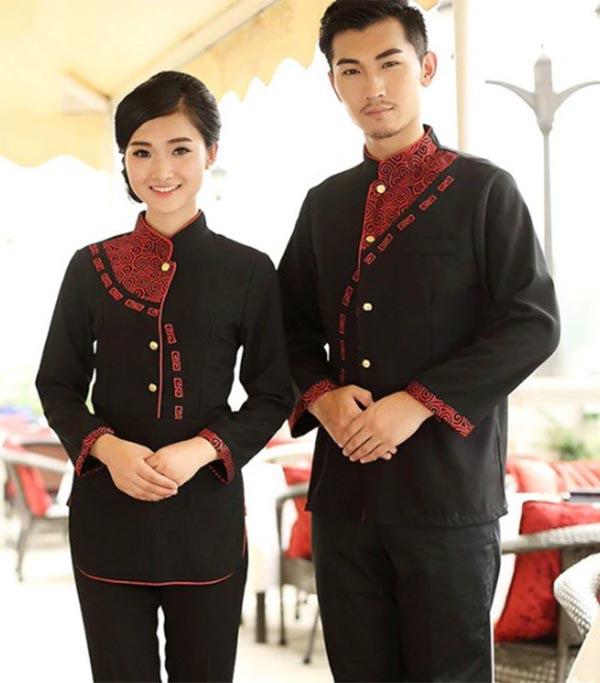 Đồng phục quản lý của nhà hàng Châu Á