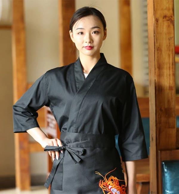 Đồng phục mang phong cách truyền thống Nhật Bản