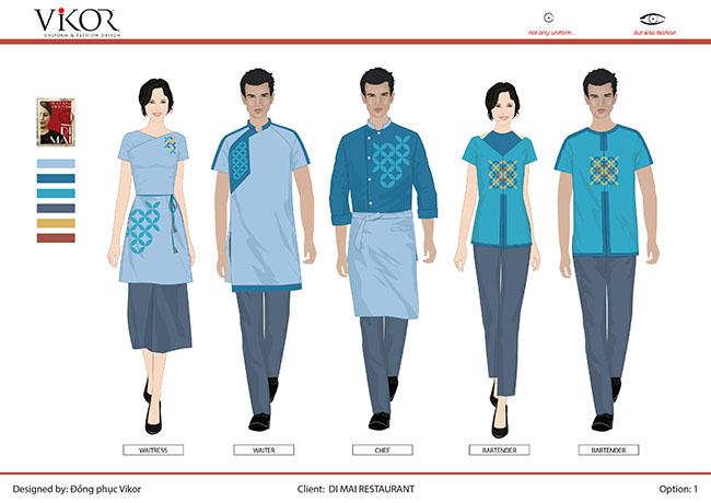 Đồng phục áo dài cách tân