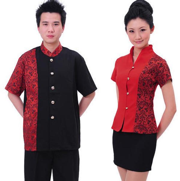 Đồng phục quản lý nhà hàng Trung