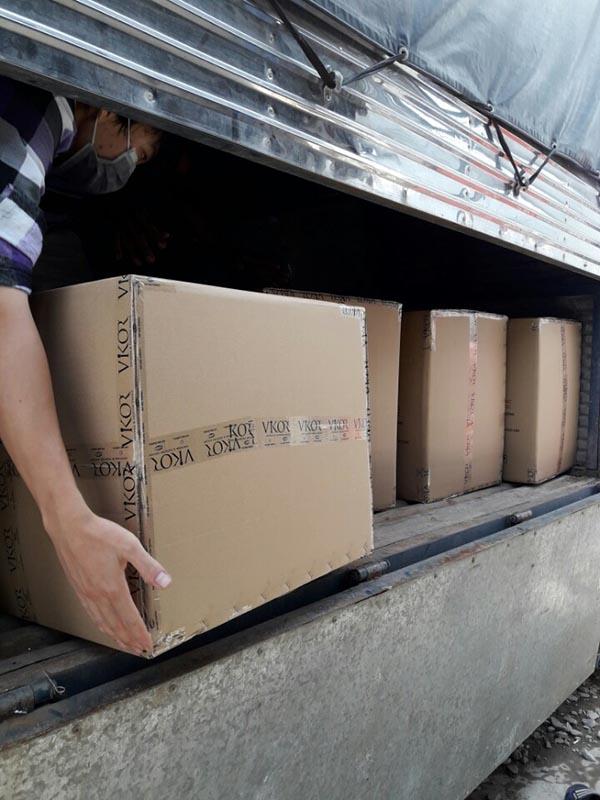 Quy trình đóng gói sản phẩm tại VIKOR