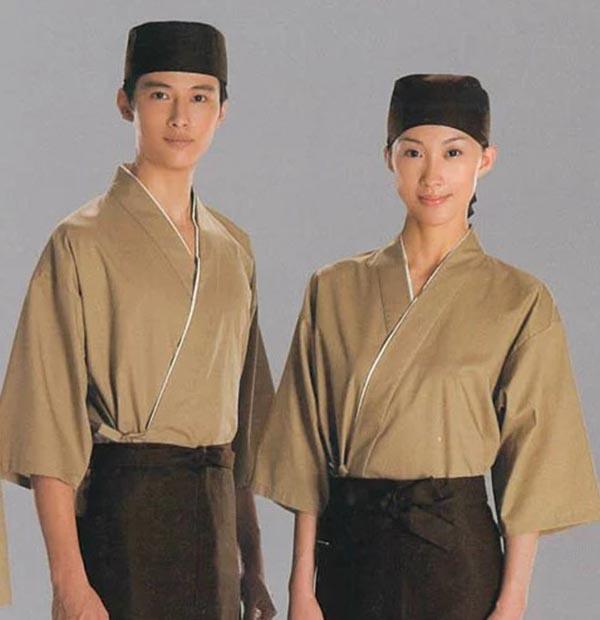 Đồng phục nhà hàng Nhật kiểu truyền thống