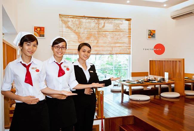 Đồng phục quản lý nhà hàng Nhật