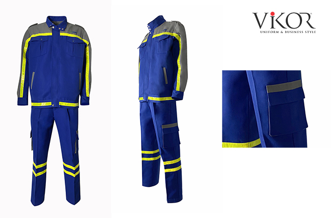 Thiết kế đồng phục công nhân