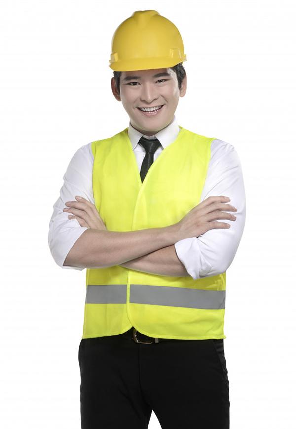 Áo gile đồng phục của công nhân