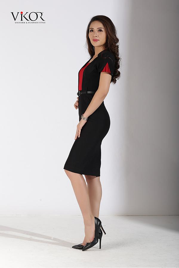 Đầm đồng phục công sở VW52501